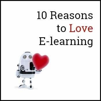 10 Reasons to Love E-learning cover